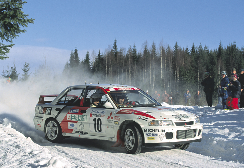 Mitsubishi Lancer Evo II Swedish Rally