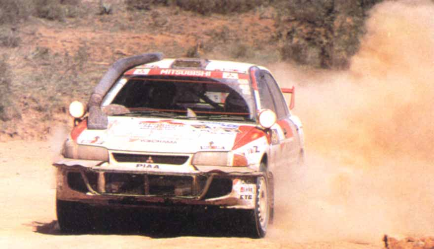 Mitsubishi Lancer Evolution 3 Safari WRC 1996