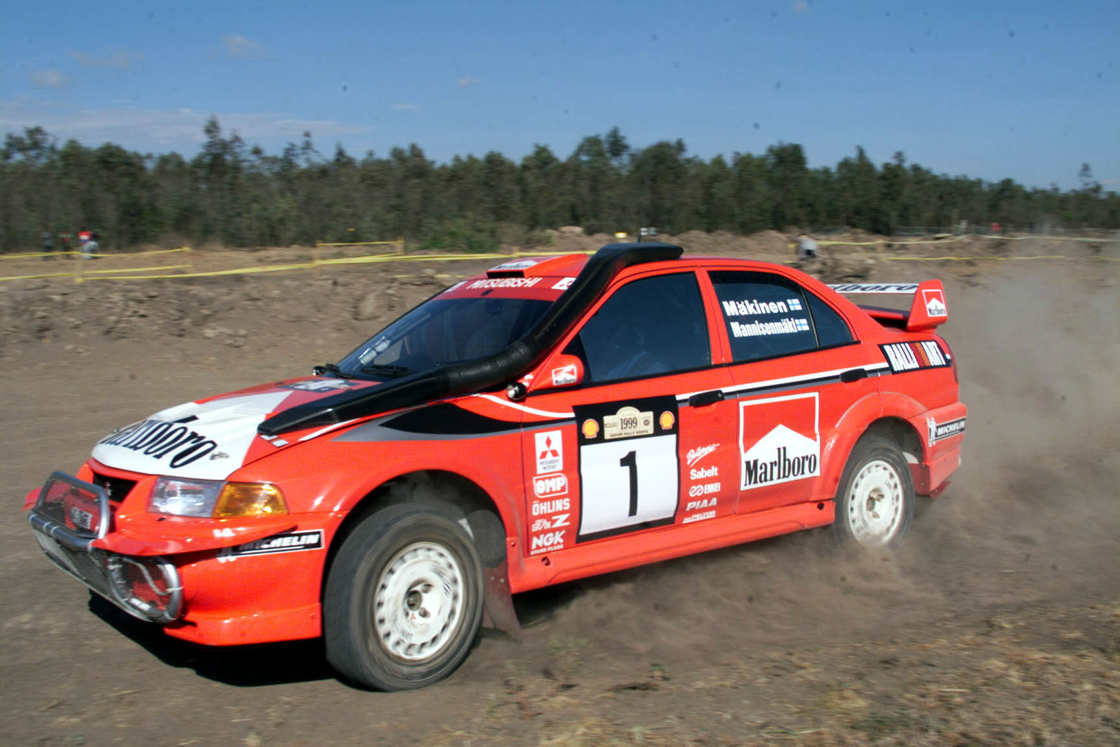 Mitsubishi RalliArt Lancer Evo6 WRC Safari Rally