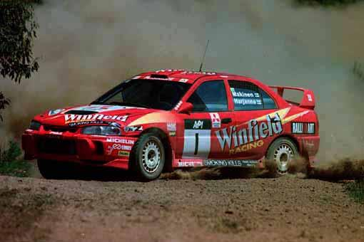 Mitsubishi Lancer Evolution IV | 1997 ралли Австралии | Tommi Makinen Team Winfield Mitsubishi Ralliart