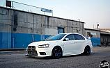 Mitsubishi Lancer Evolution X Volk Racing TE37
