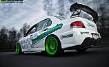 Mitsubishi Lancer Evolution 9 Green wheels