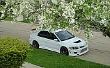Mitsubishi Lancer Evolution IX White C-West