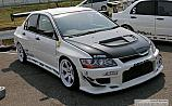 Mitsubishi Lancer Evolution VII White C-West