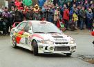 Mitsubishi Carisma GT | 1998 ралли Монте-Карло | U.NITTEL Team Mitsubishi Ralliart