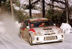 Mitsubishi Carisma GT | 1998 ралли Монте-Карло | Richard Burns Team Mitsubishi Ralliart