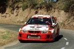Mitsubishi Lancer Evolution V | 1998 ралли Каталонии | Томми Мякинен Team Mitsubishi Ralliart